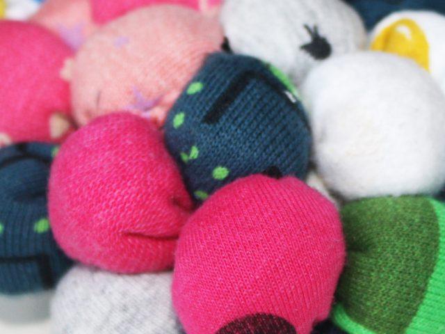Soft textile balls