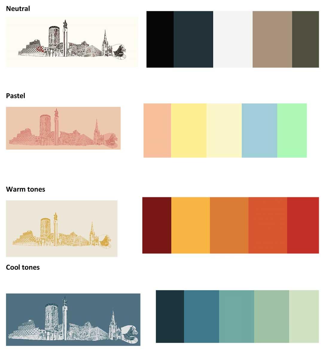 colour palette suggestions.
